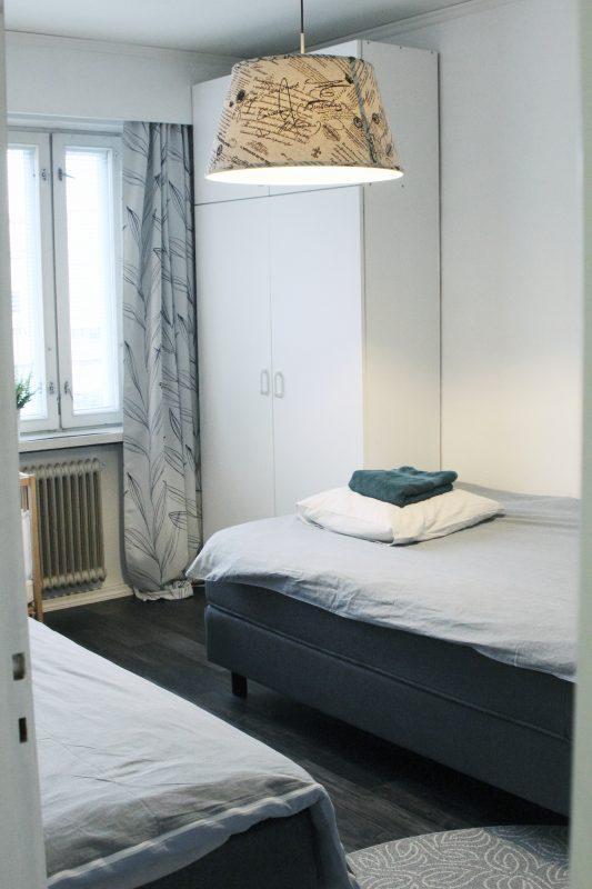 pro viitala airbnb haminassa makuuhuone